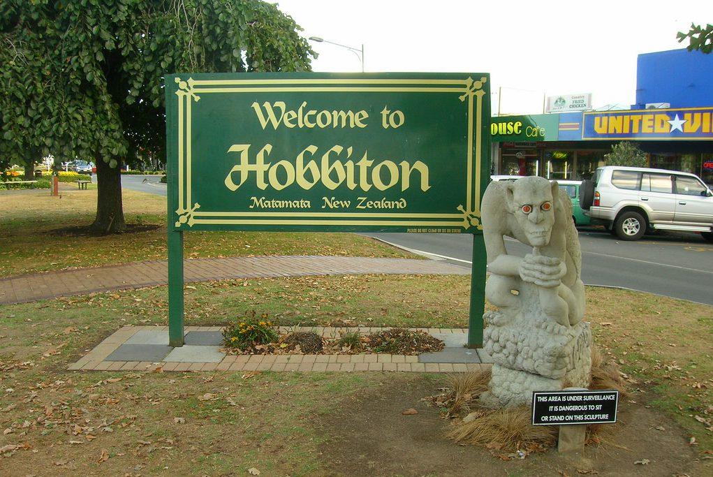Где живут хоббиты? Фото с места съемок