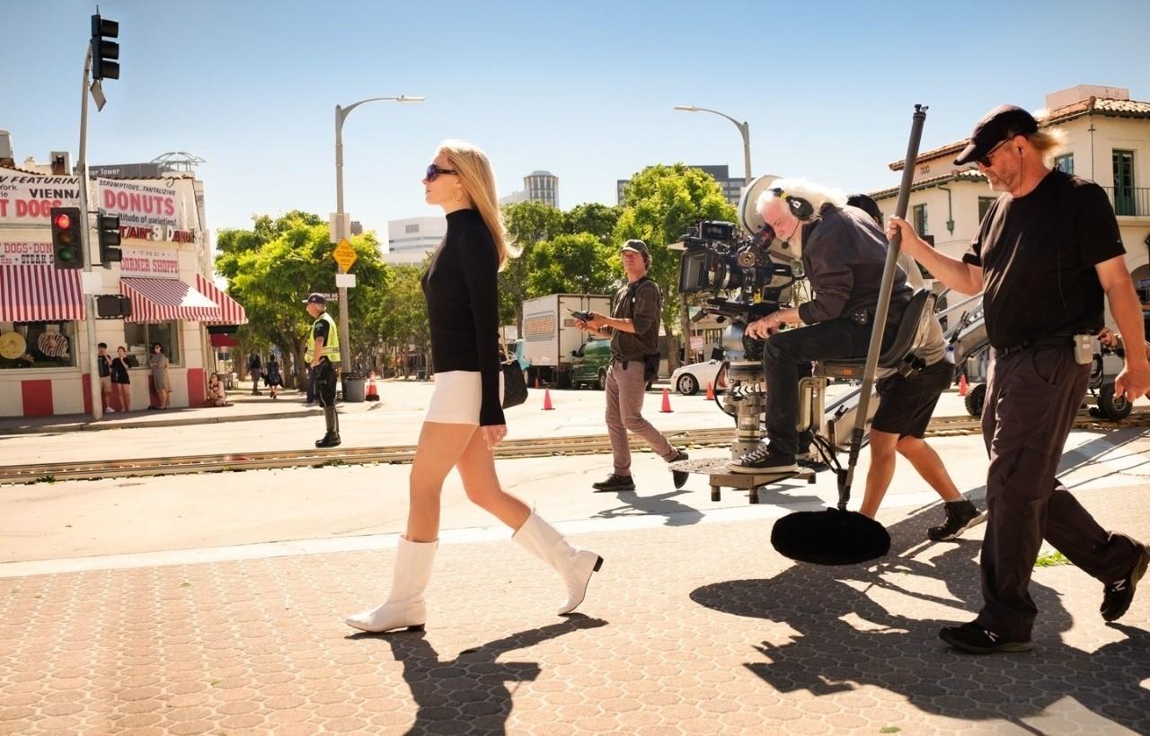 Первые кадры из «Однажды в Голливуде» Квентина Тарантино.