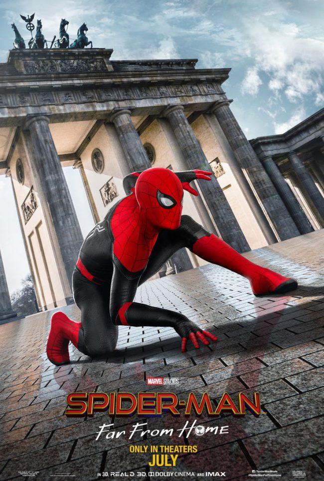 Человек-Паук шлет открытки из Европы