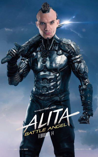 Свежие постеры фильма «Алита: Боевой ангел»