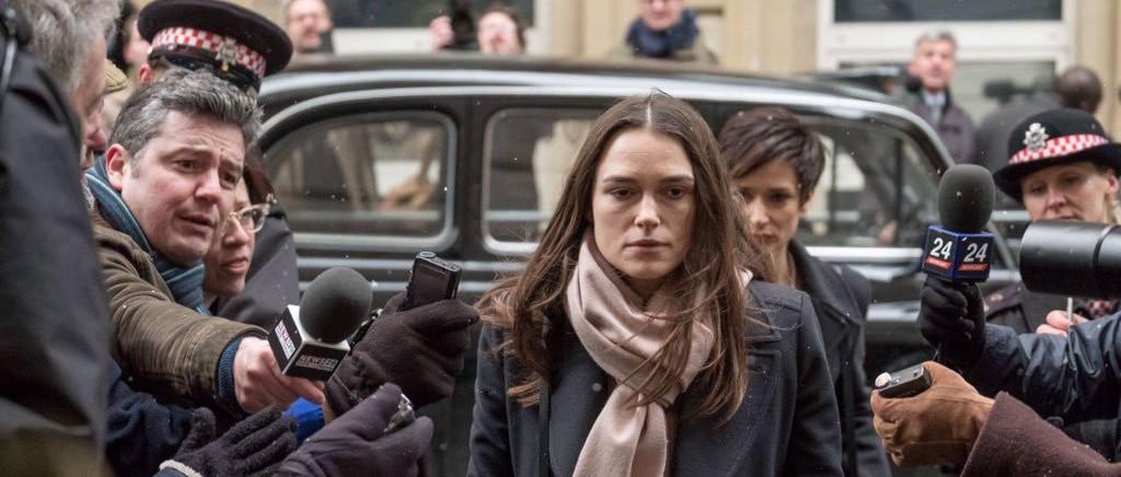 Кира Найтли сыграла осужденную разведчицу