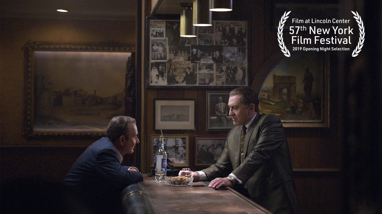«Ирландец» Мартина Скорсезе: первые кадры