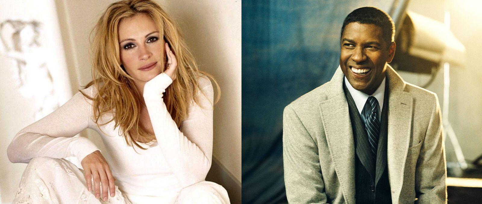 Джулия Робертс и Дензел Вашингтон сыграют в триллере Netflix