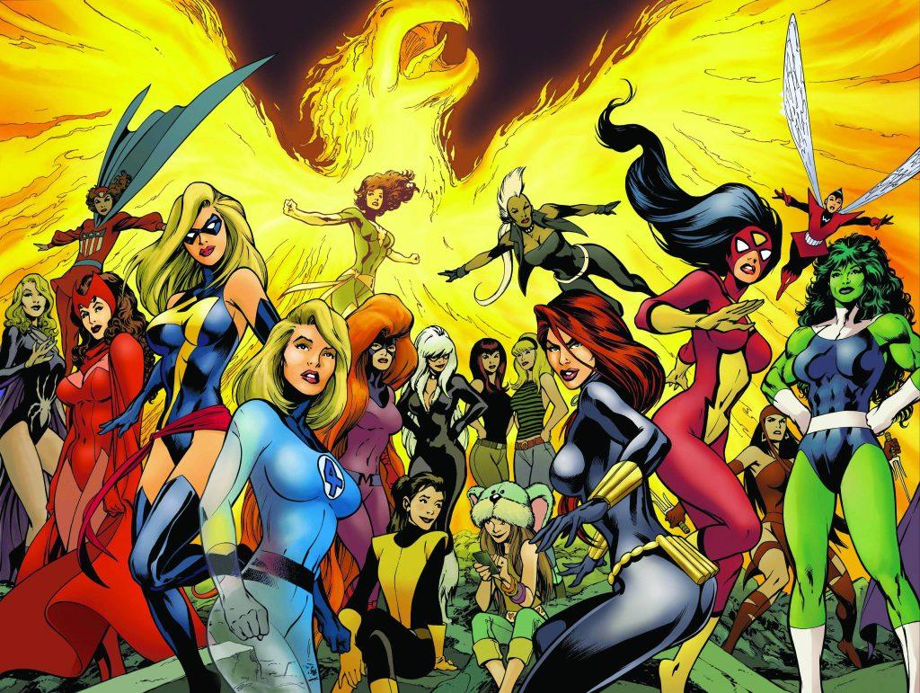 Слух дня: Marvel хочет снять женскую версию «Мстителей»