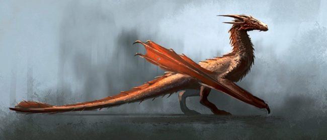 Появились первые концепт-арты драконов из спин-оффа «Игры престолов»