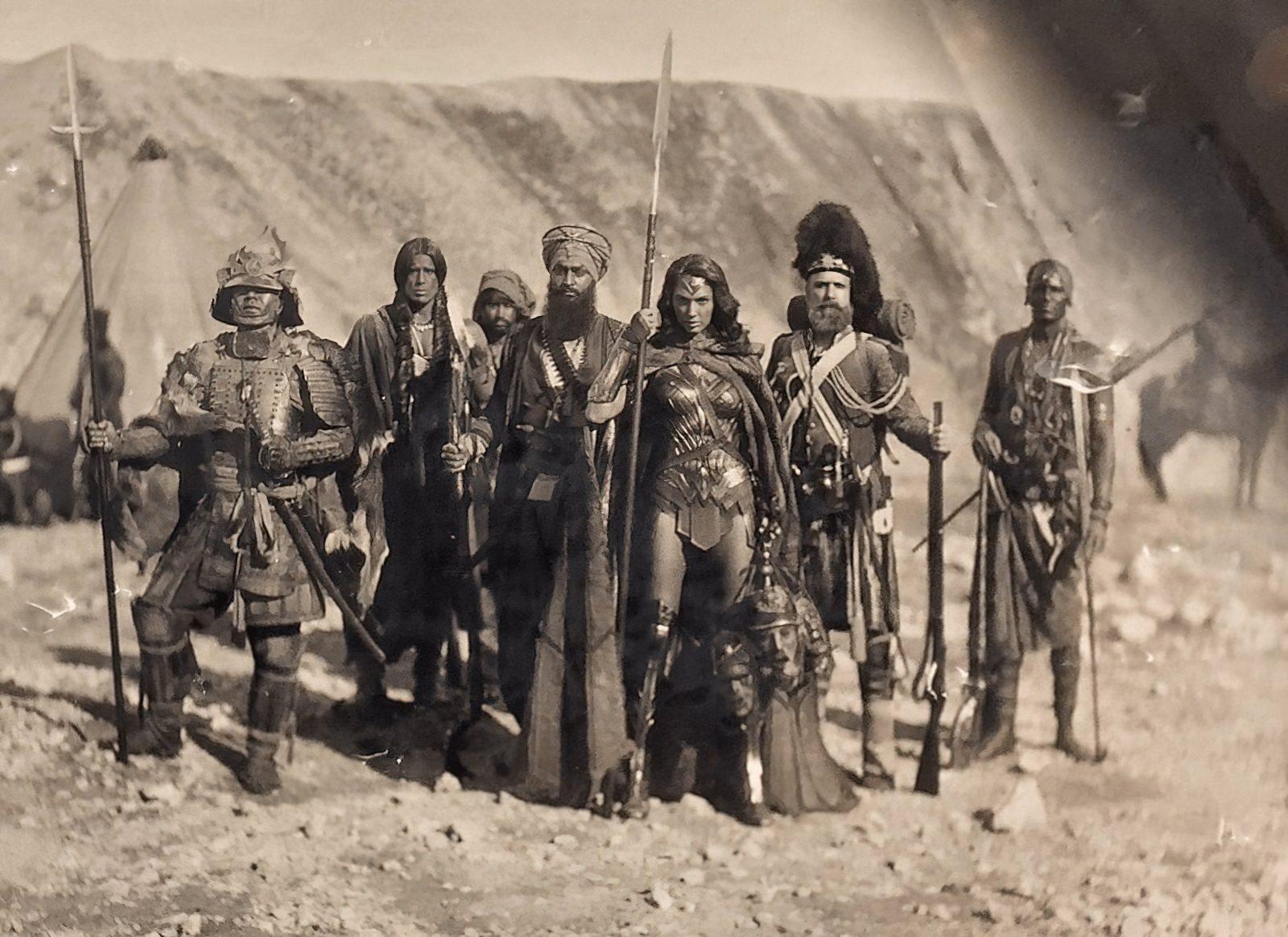 Зак Снайдер показал фотографию из альтернативной истории Чудо-женщины