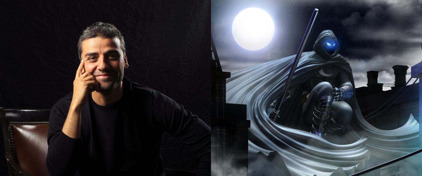 Теперь официально: Оскар Айзек сыграет Лунного Рыцаря Marvel