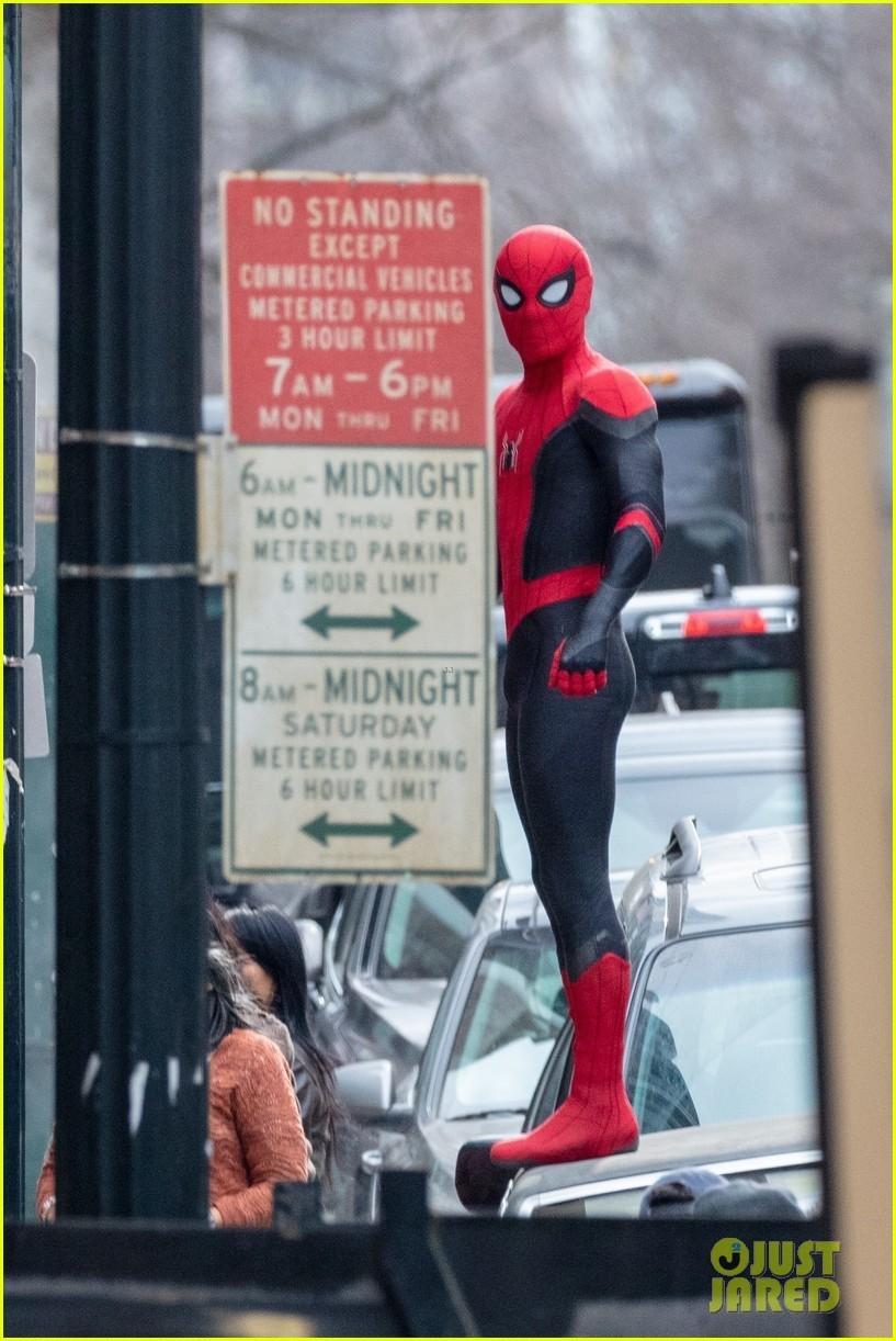 Появились новые фото со съемок «Человека-паука 3»