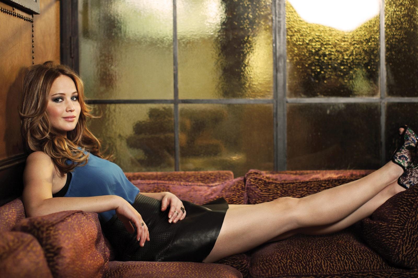 Дженнифер Лоуренс получила травму на съемках фильма «Не смотри вверх»
