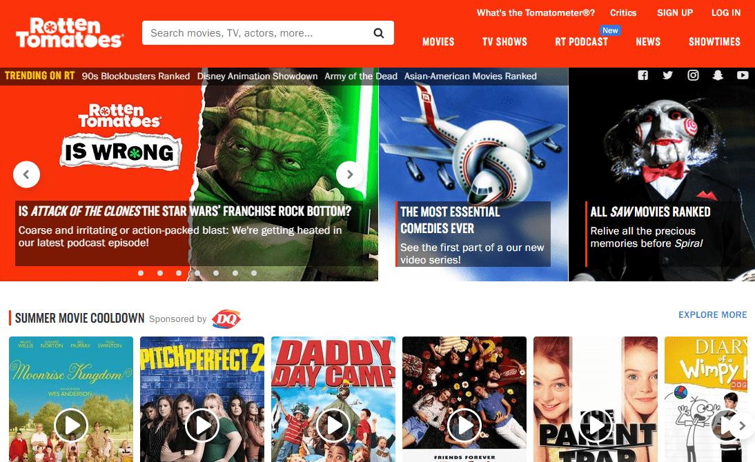 Rotten Tomatoes запустит собственный стриминг-сервис