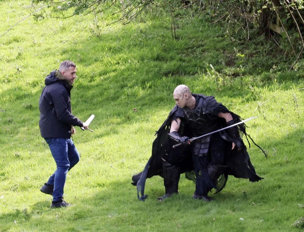Появились первые кадры со съёмок «Подземелья драконов»