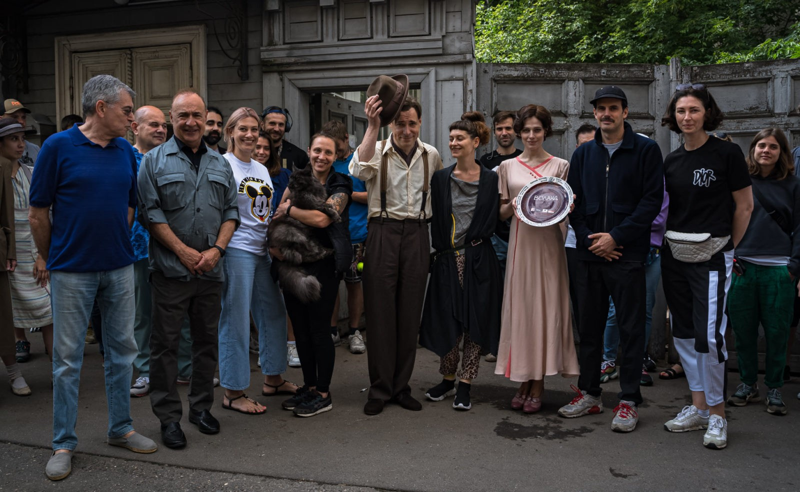 В Москве стартовали съемки фильма «Воланд» по роману Булгакова