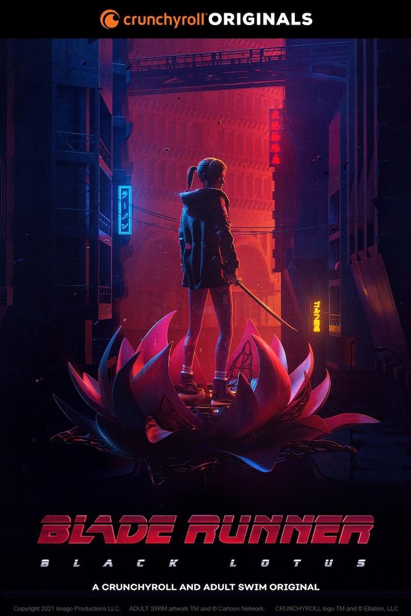 «Бегущий по лезвию: Черный лотос» (2021) - трейлер мультсериала