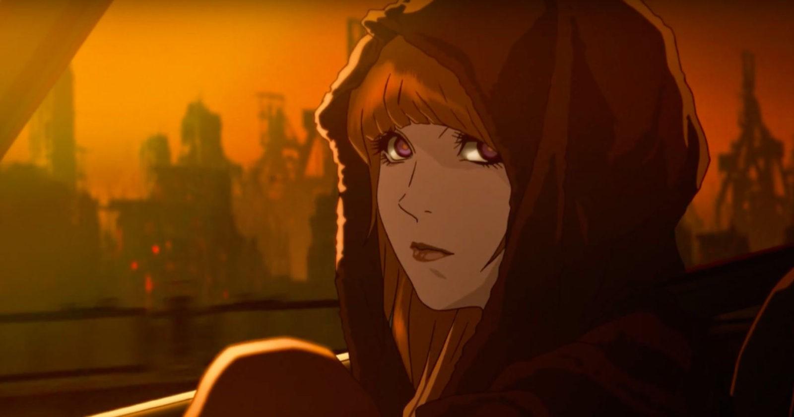Авторы представили персонажей аниме «Бегущий по лезвию: Черный лотос»