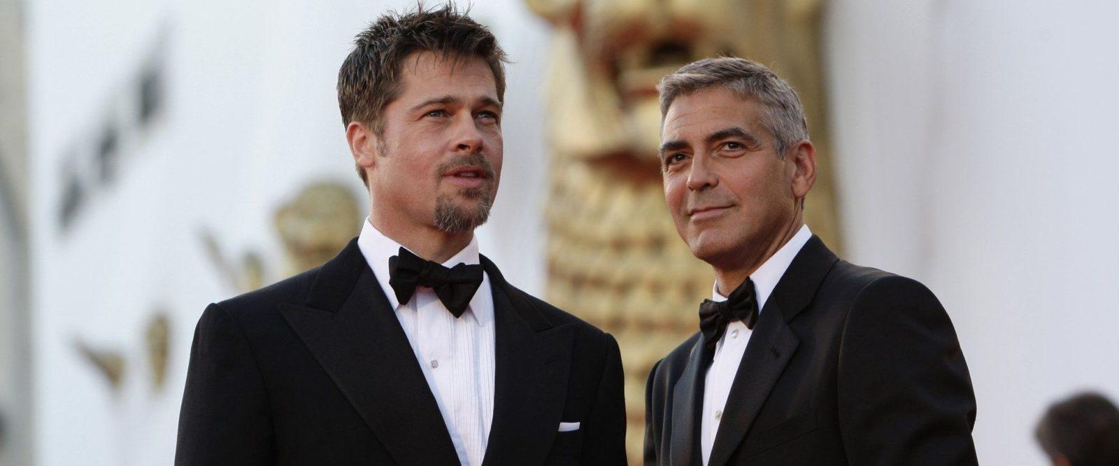 Джордж Клуни и Брэд Питт станут конкурентами